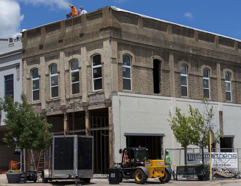 Building Renovation To Add Downtown Apartments In Temple News