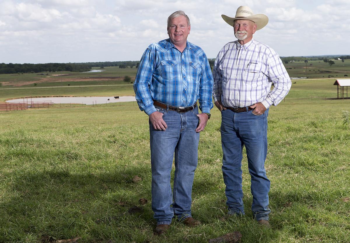 Bob McClaren and James Burks