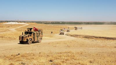 III Corps trains in Syria
