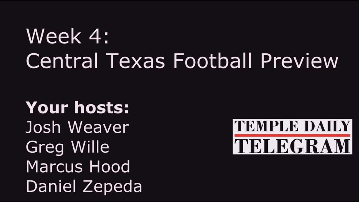 Podcast:  2018 Week 4 Football Preview