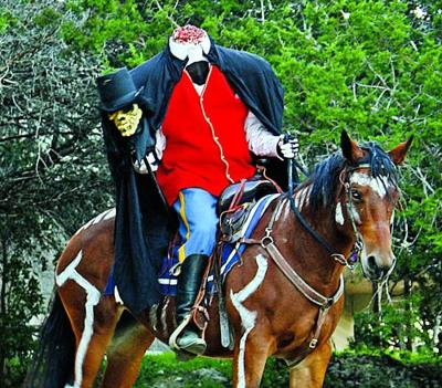 Headless Horseman haunt the Fright Trail