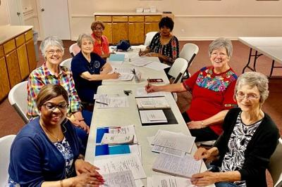 Church Women of the Temple area meeting