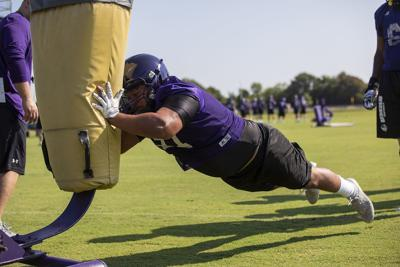 UMHB's first practice