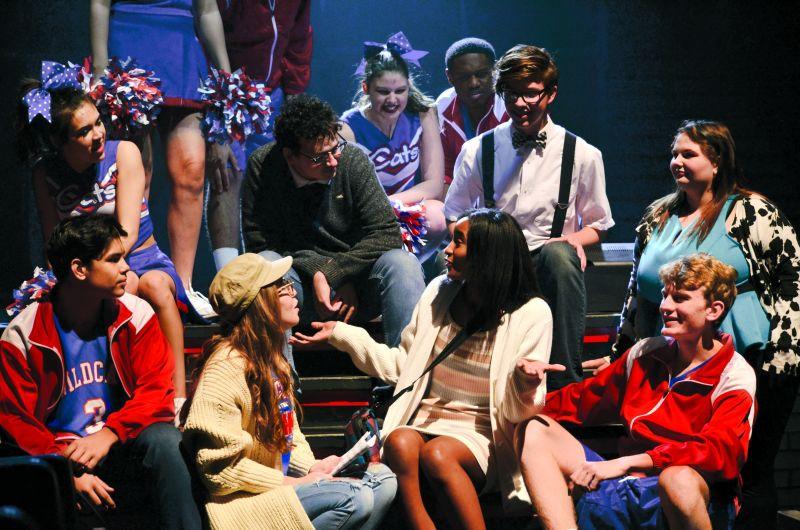 'High School Musical' rehearsal