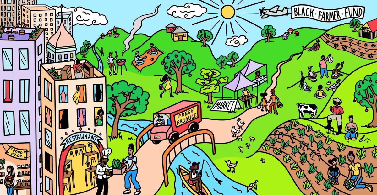 Black Farmer Fund Illustration