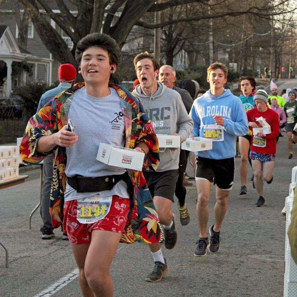 KKC Alex Ahn Runs with Doughnuts