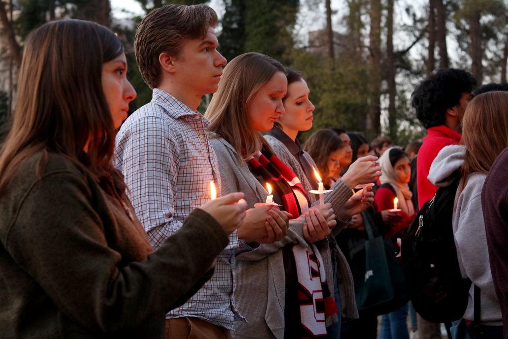 Interfaith Community Vigil Candles