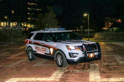Campus Police Car