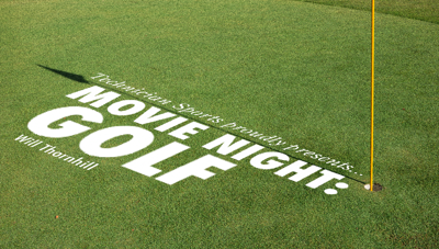 Movie Night Golf Graphic