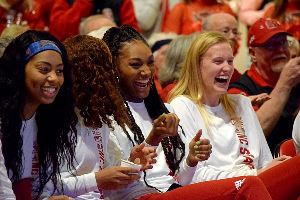 WBB Selection Show Smiles close
