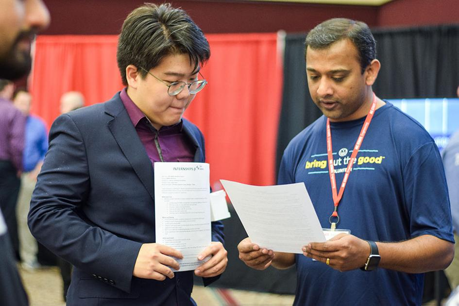 Spring Engineering Career Fair draws thousands of students in search of employment