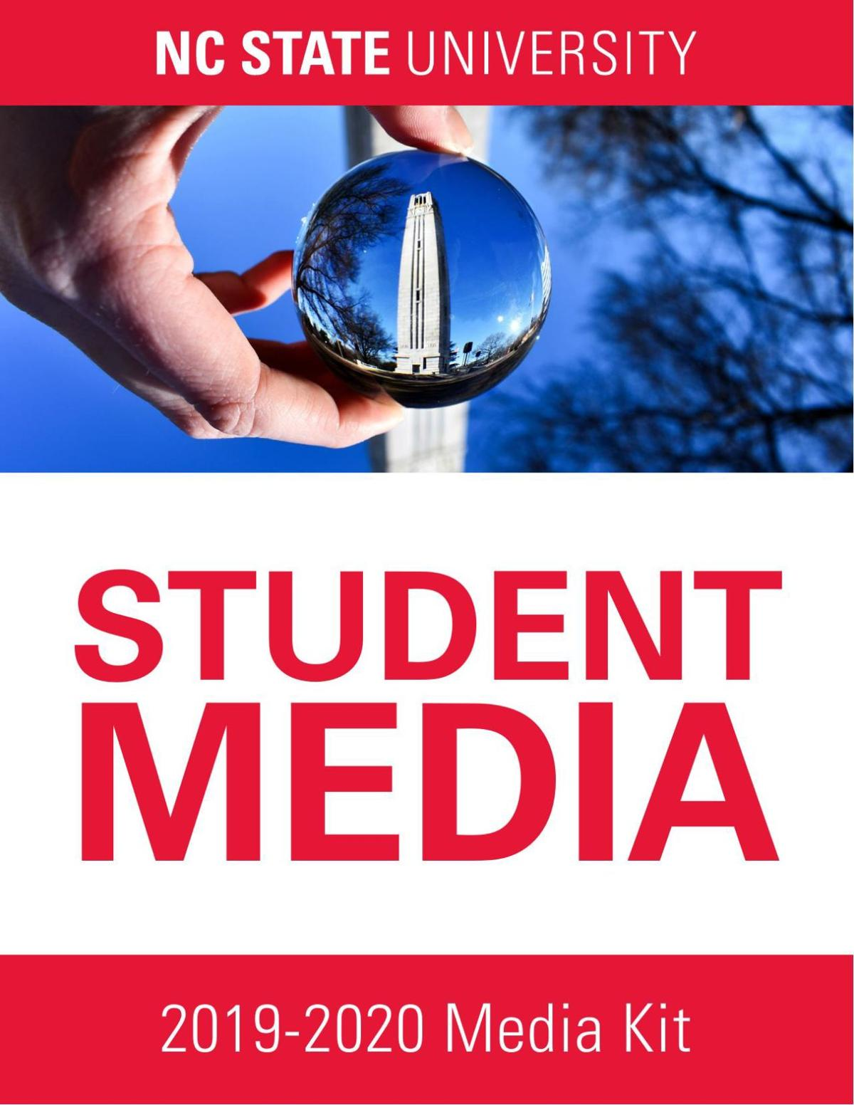 NC State Student Media Rate Card 2019-2020