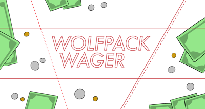 Wolfpack Wager 2020 Graphic