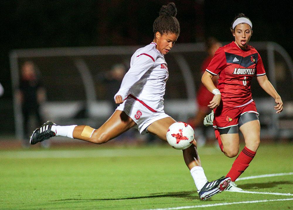 W Soccer V. Louisville