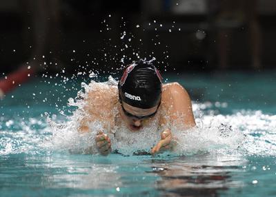 SWIMvsUVA Hansson Swims Breaststroke