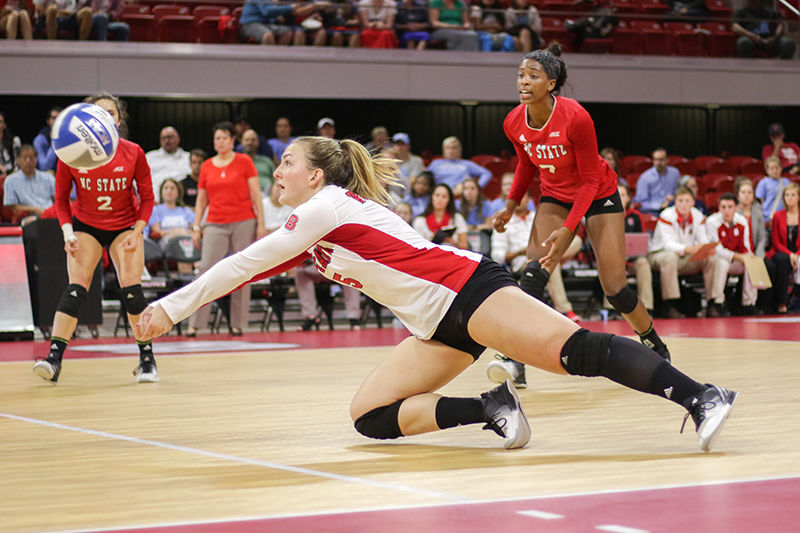 Volleyball vs UNC-Chapel Hill