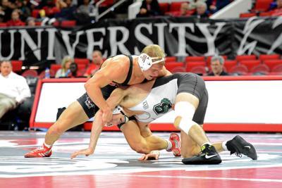 Hayden Hidlay Wrestles Brown