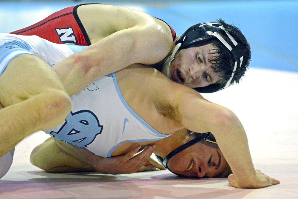 Sean Fausz Wrestles UNC-CH