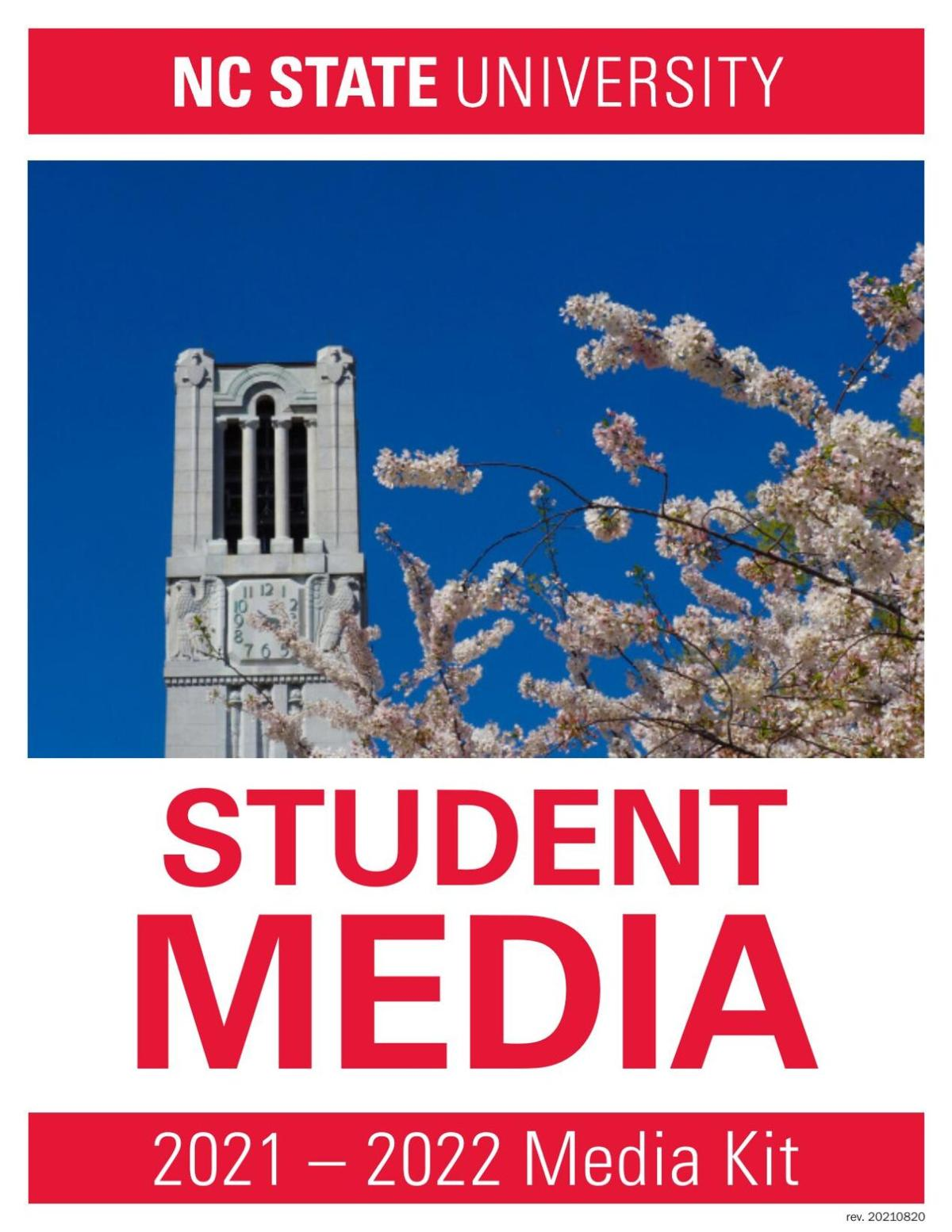 NC State Student Media Rate Card 2021-22
