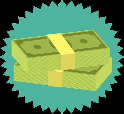 new money graphic