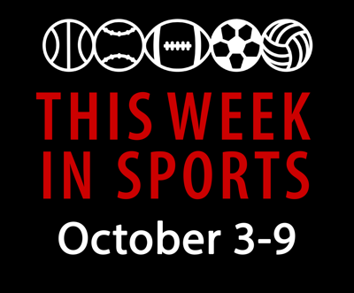 This week in sports: Oct. 3-9 Graphic
