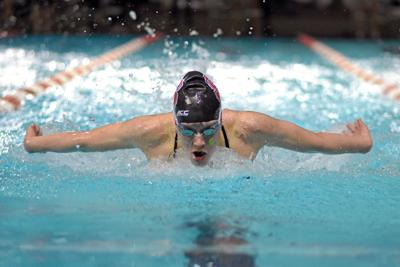 Alons Swims vs. Virginia