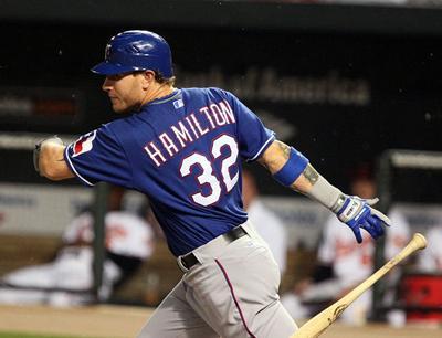 finest selection 25838 52eb2 Josh Hamilton Overcomes adversity in return to MLB | Sports ...