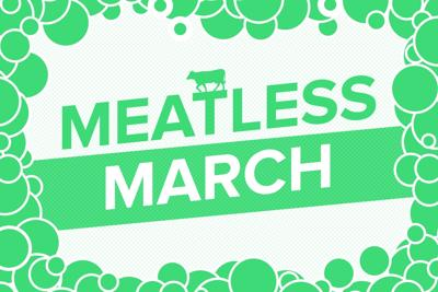Meatless March graphic