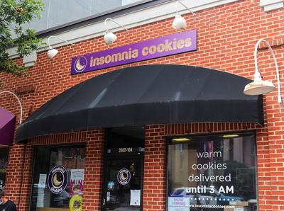 Outside of Insomnia Cookies