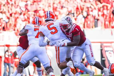 vClemson-Moore Goes to Sack