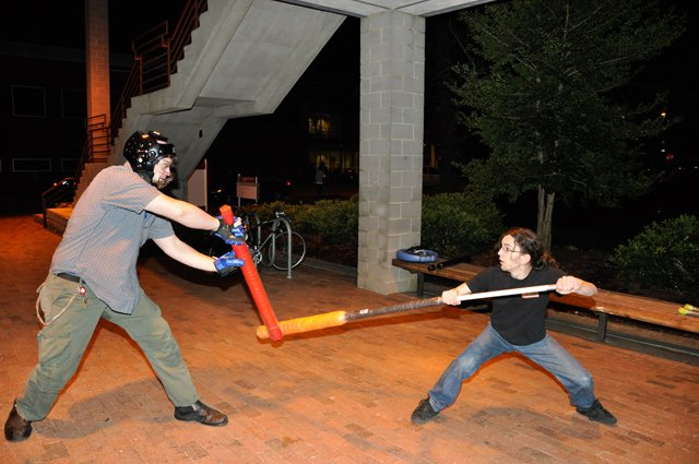 Foam Fighters: Sparring Group creates camaraderie with knives