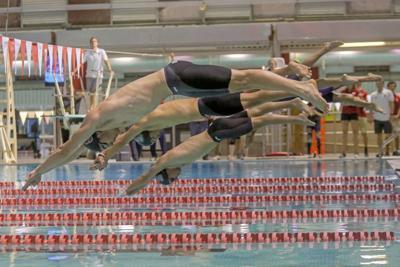 Men's Swimming Starting Blocks