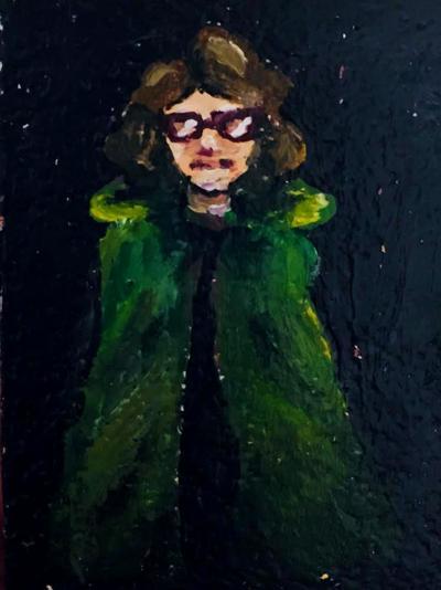 Green Cloak Girl