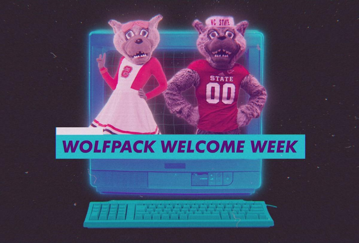 Wolfpack Welcome Week Graphic