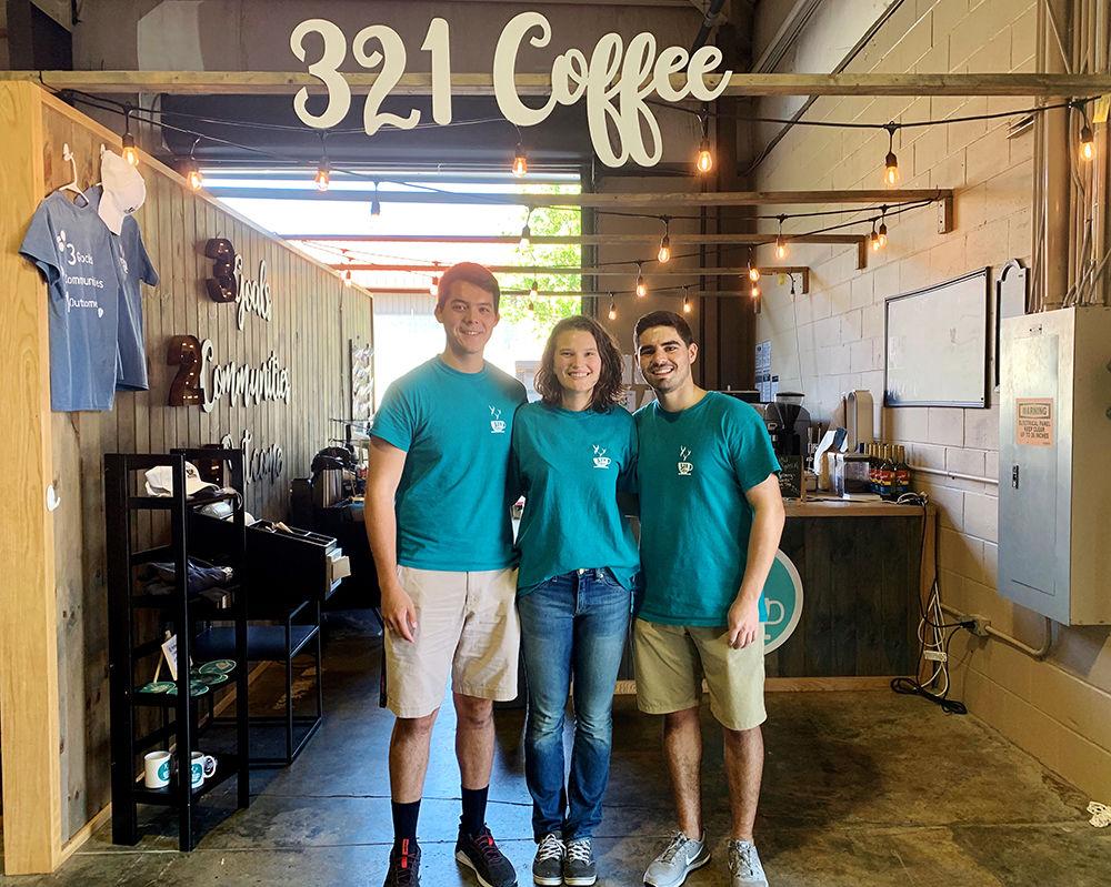321 Coffee Sign