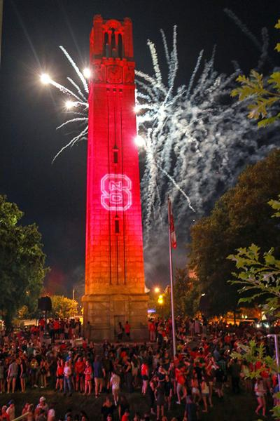 Belltower Fireworks