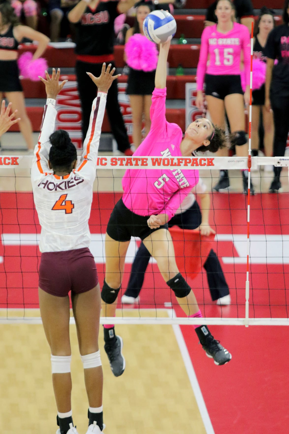 Women's Volleyball v. Virginia Tech