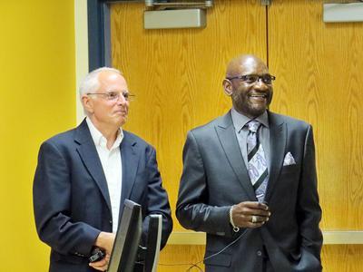 Richard Rosen and Darryl Hunt