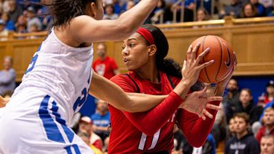 Jakia Brown-Turner Handles vs. Duke