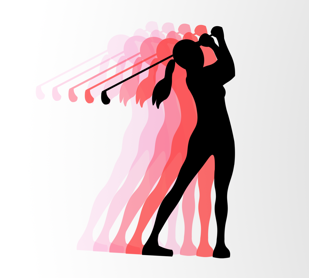 Women's Golf Graphic