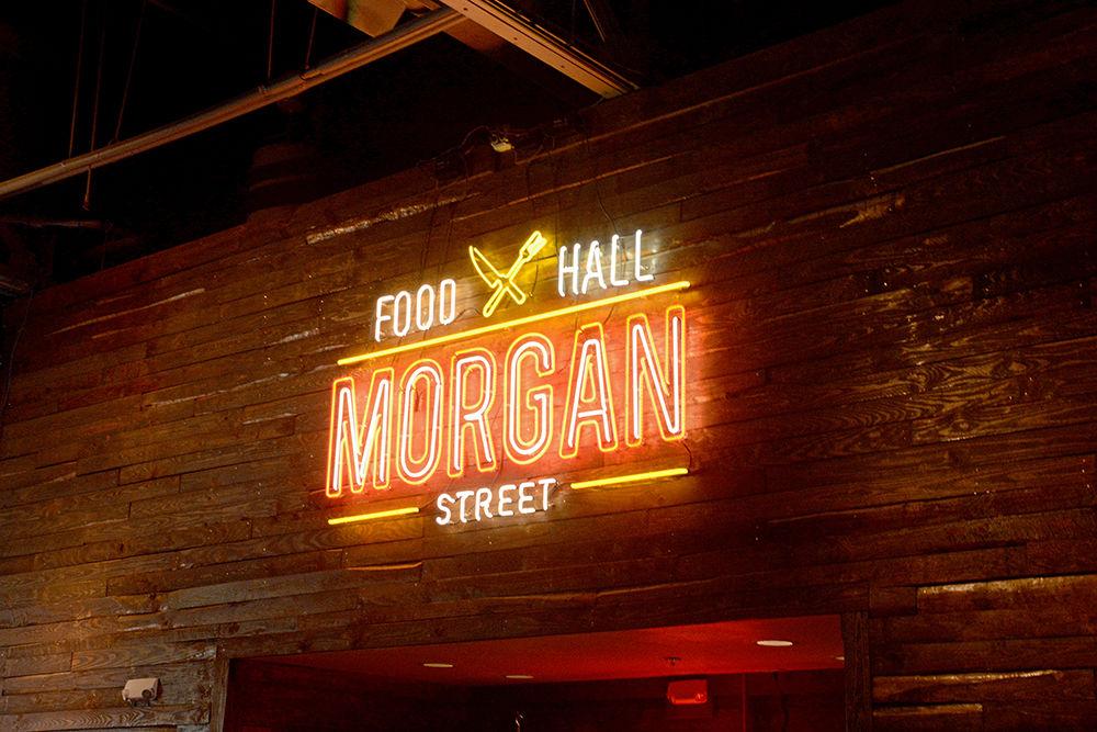 Morgan Street Food Hall Sign