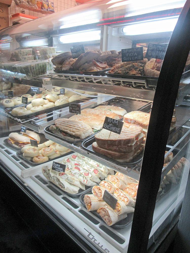 Morgan Street Food Hall Display Case