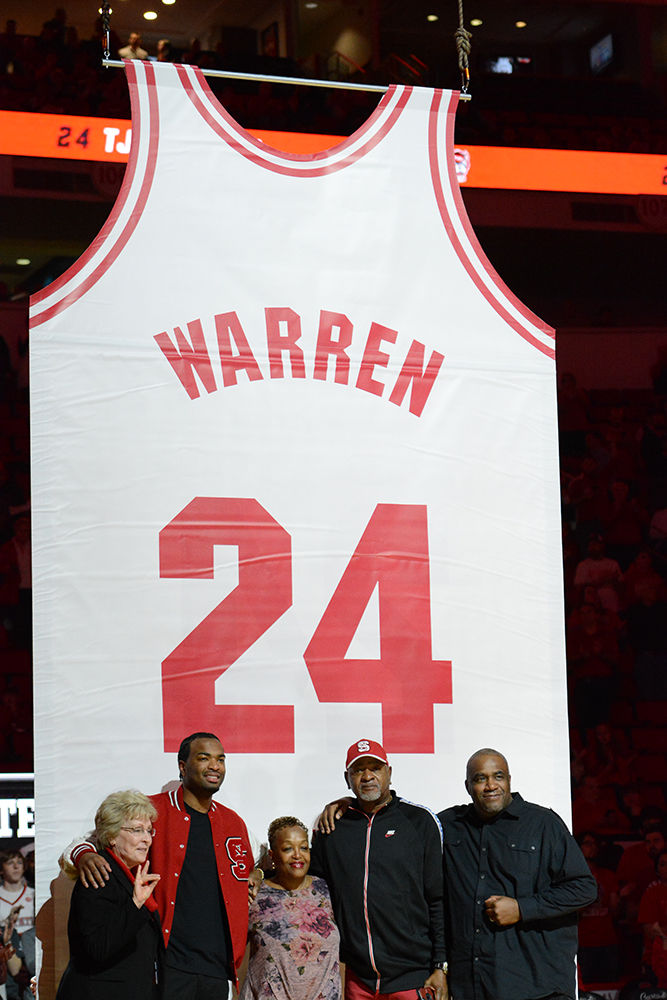 Warren Family With Jersey