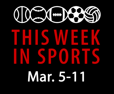 This Week in Sports: March 5-11 Graphic