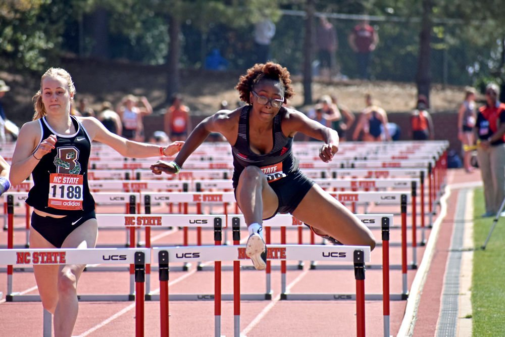 Timara Chapman Jumps Hurdle