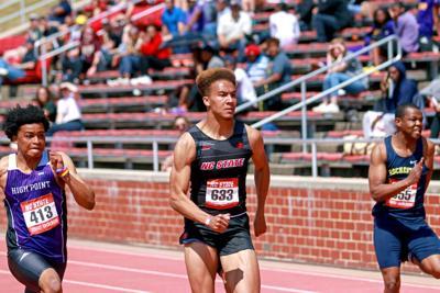 Jamar Davis 100-Meter Dash