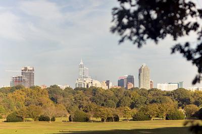 Dorothea Dix Raleigh Skyline