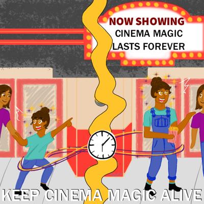 movie theater magic opinion column cartoon graphic
