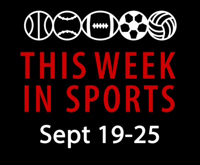 This week in sports: Sept. 19-25
