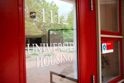 76d4302a76c9d The University Housing office s front door at Pullen Hall, behind which  decisions of where students are made on Monday, July 10.